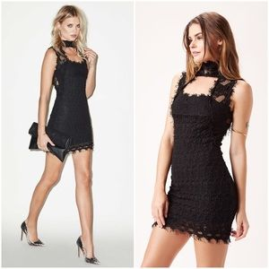 NIGHTCAP LACE CHOKER DRESS FREE PEOPLE REVOLVE